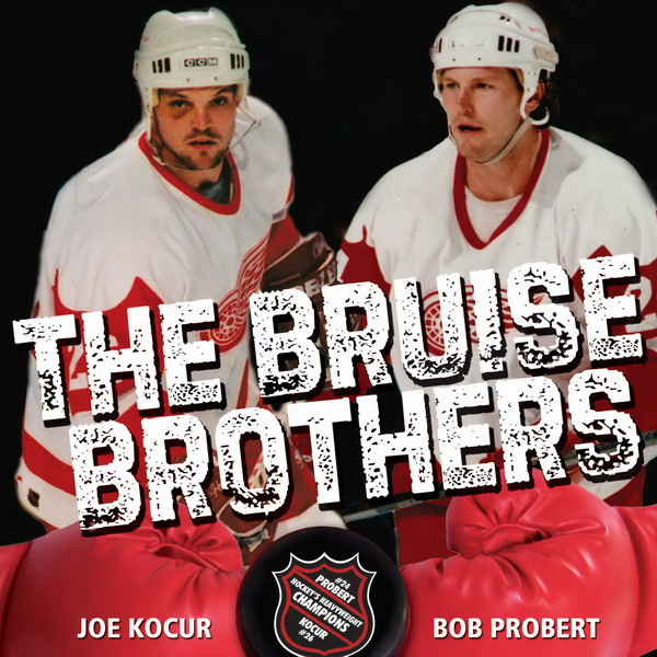 UNDATED ó Jacket cover from The Bruise Brothers, which is written by Windsor Star sports columnist Bob Duff. The book features former Detroit Red Wings tough guys Joe Kocur and Bob Probert. Immortal Investments Publishing. Handout photo