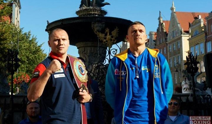 Кшиштоф Гловацки и Александр Усик, Polsat Boxing Night